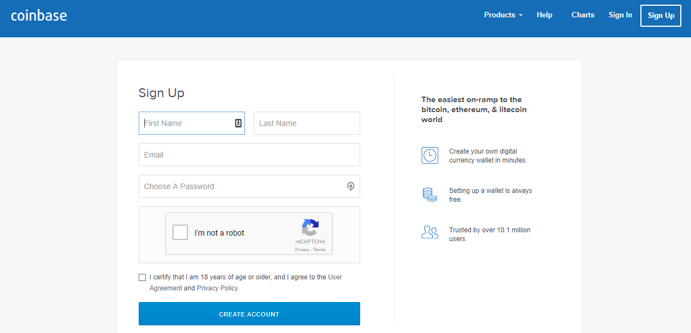 coinbase linked account